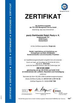 thumbnail of EN 9120_2009 de
