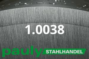 1.0038 Werkstoff-Stahl - Pauly Stahlhandel & artverwandten Materialien