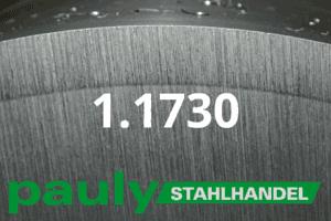 1.1730 Werkstoff-Stahl - Pauly Stahlhandel & artverwandten Materialien