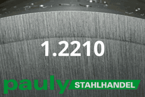 1.2210 Werkstoff-Stahl - Pauly Stahlhandel & artverwandten Materialien