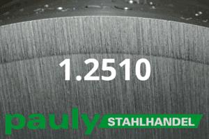 1.2510 Werkstoff-Stahl - Pauly Stahlhandel & artverwandten Materialien