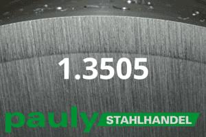 1.3505 Werkstoff-Stahl - Pauly Stahlhandel & artverwandten Materialien