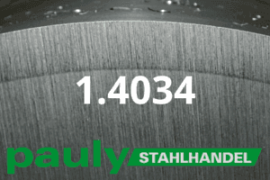 1.4034 Werkstoff-Stahl - Pauly Stahlhandel & artverwandten Materialien