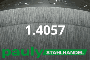 1.4057 Werkstoff-Stahl - Pauly Stahlhandel & artverwandten Materialien