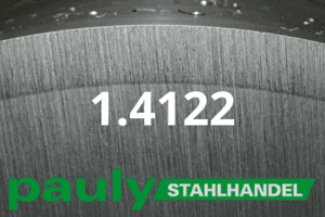 1.4122 Werkstoff-Stahl - Pauly Stahlhandel & artverwandten Materialien
