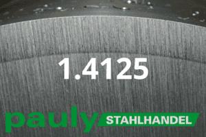 1.4125 Werkstoff-Stahl - Pauly Stahlhandel & artverwandten Materialien