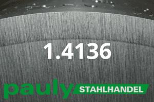 1.4136 Werkstoff-Stahl - Pauly Stahlhandel & artverwandten Materialien
