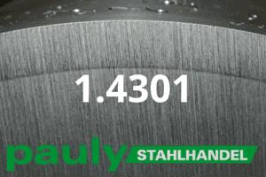 1.4301 Werkstoff-Stahl - Pauly Stahlhandel & artverwandten Materialien