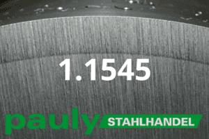 1.1545 Werkstoff-Stahl - Pauly Stahlhandel & artverwandten Materialien